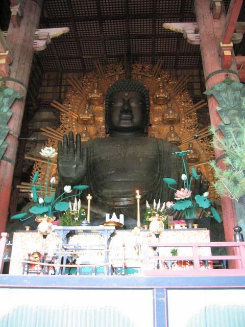 The Daibutsu at Todai-ji.